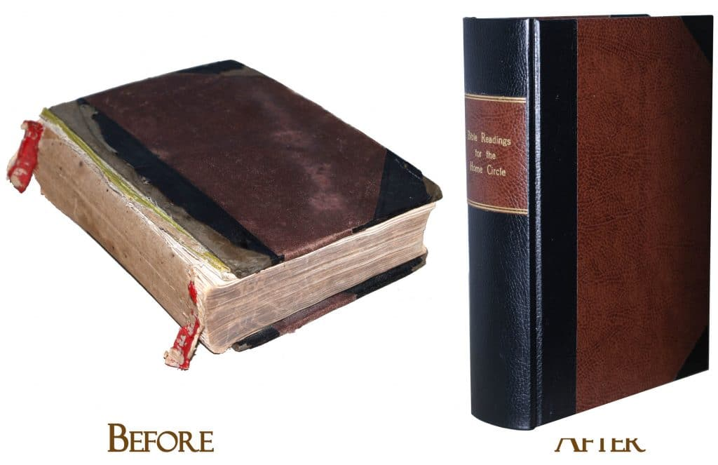 replicating an original bible cover